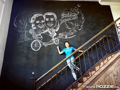 Rozzie Calgary Chalk Artist: Fiona and James Caricatures, Chalk ...
