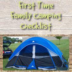 Printable Family Camping Checklist