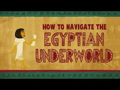 The Egyptian Book of the Dead: A guidebook for the underworld - Tejal Gala - YouTube