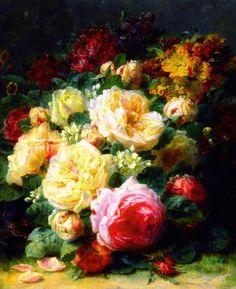 jean-baptiste robie | nature morte | pinterest | paintings, flower