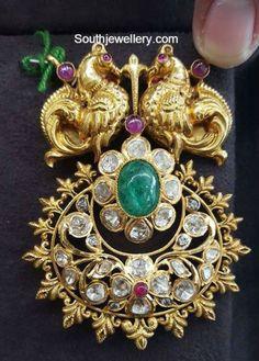peacock_nakshi_pendant