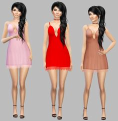 Titania Dress• CAS Standalone Recolor  • Custom Thumbnail  • 30 Colors  Mesh Credits To @kismet-sims - * You Need This Mesh ** Download * - SFSIf you use it tag @simply-simming