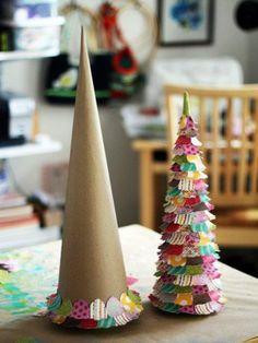 DIY Christmas tree.