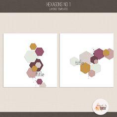 Hexagons No. 1 :: Templates :: Memory Scraps