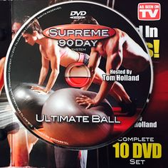 """ULTIMATE BALL.  **Supreme 90Day System, """"Get Ripped in 90Days!"""" Workout Calendar, Get Ripped, Dvd Set, Nutrition Guide, See On Tv, Supreme, Day, Boot Camp"""