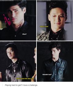 Alec being the oblivious bae he is