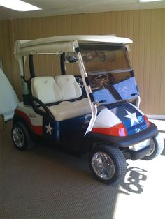 Bigdog Custom Golf Carts- don't particularly care for this cart, but great website for cart ideas!
