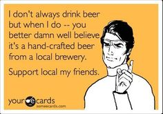 Support your local brewery #craftbeer #supportlocal