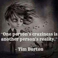 Because I like Tim Burton, I have since I was little.