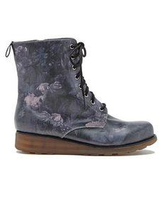 Look what I found on #zulily! Dark Floral Cobain Boot by DV8 #zulilyfinds
