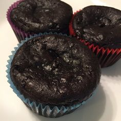 Rich gluten-free chocolate muffins!