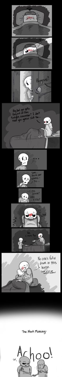 sans and papyrus - skelebros comic