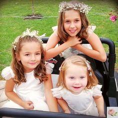 #visszajelzés Gyönyörű koszorúslányok #rosegardenforkids ruhában. A menyasszony kérésére ELENA ruhánk pamutszatén felsőrészt kapott,… Girls Dresses, Flower Girl Dresses, Christening, Special Occasion, Kids Outfits, Wedding Dresses, Flowers, Clothes, Design