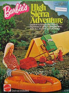Barbie High Sierra Adventure Kit Netflix Documentary behind the scenes of Mattel Toys Barbie Dream, Barbie House, Barbie Camper, Vintage Barbie Clothes, Vintage Toys, Vintage Games, Vintage Prints, Mattel Dolls, Doll Toys