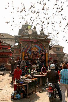 Kathmandu, the capital city of Nepal