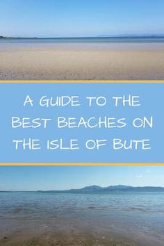 My guide to the best beaches on the isle of Bute. From classic golden sand to picturesque bays, there is something for everyone. Scotland Beach, Scotland Road Trip, Scotland Travel, The Places Youll Go, Places To See, Isle Of Bute, Beach Adventure, Scottish Islands, Bays
