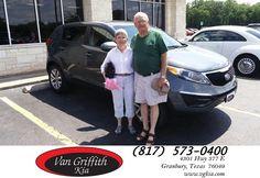 #HappyBirthday to Dave & Carol from Jay Simons at Van Griffith Kia!  https://deliverymaxx.com/DealerReviews.aspx?DealerCode=PXVJ  #HappyBirthday #VanGriffithKia