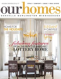 OUR HOMES Oakville Holiday/Winter 2016/17