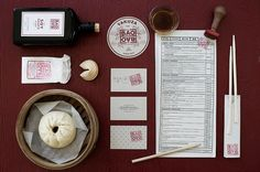 BAOBAO, Branding for a Dim Sum Bar