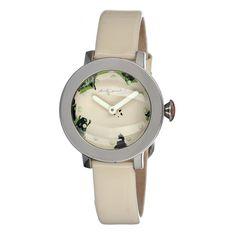 Flowers Watch Cream design inspiration on Fab.