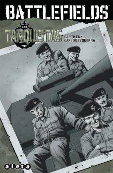 """""""Battlefields 3 Los tanquistas"""" (Garth Ennis y Carlos Ezquerra, Aleta Ediciones)"""