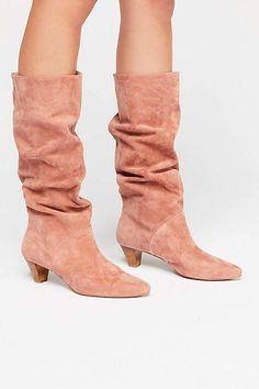 a03b784b075b61 Silent D Jaclyn Heel Boot. Black Heel BootsHeeled BootsSlouchy ...
