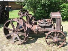 Old Fordson tractor.