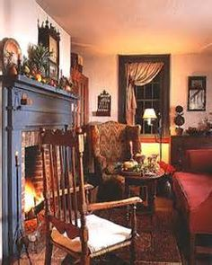 Traditional Early American Interiors - Yahoo Image Search Results
