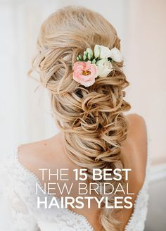 Check out our 15 favorite wedding hairstyles, perfect for your walk down the aisle.