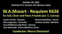 Mozart - Requiem for Soli, Choir and Piano 4 hands Mozart Requiem, Piano, Hands, Medicine, Greek Chorus, Pianos