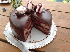 Čokoládový dort s višněmi - Cake Recipes Strawberry Ideen Tea Cakes, Food Cakes, Sweet Recipes, Cake Recipes, Croatian Recipes, Salty Cake, Unique Cakes, Chocolate Ice Cream, Strawberry Recipes