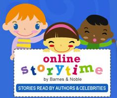 """http://www.barnesandnoble.com/u/online-storytime-books-toys/379002381/    Barnes & Noble online storytime. What a great new discovery. Many picture books read by authors!    Including """"Where the Wild Things Are,"""" """"The Kissing Hand,"""" """"Olivia"""" and more! A new addition each month.  #picturebooks"""