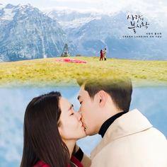 Crash Landing on You Photos - MyDramaList Hyun Bin, Kdrama, Netflix, Korean Drama Quotes, Meteor Garden, Paragliding, Thai Drama, Drama Korea, Anime Scenery