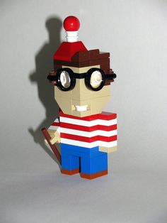 LEGO Where's Waldo Cubedude
