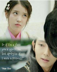 Lee joon gi and IU ❤ Joon Gi, Lee Joon, Moon Lovers Drama, Korean Drama Quotes, Drama Queens, Kdrama, Korean Dramas, Frases, Drama Korea