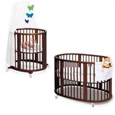 Stokke Sleepi Bassinet and Crib Set in Walnut - 103904
