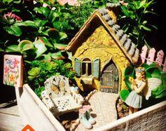 Fairy Garden Kit Starter Set Fairies by BeachCottageBoutique