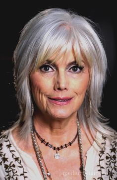 medium shag hairstyles for older women with bangs - Medium shag hairstyles – Medium Hair