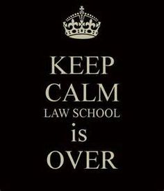 Law school over for the year! We survived 1L!