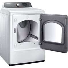 FREE SHIPPING! Shop Wayfair for Samsung 7.4 Cu. Ft. Electric Dryer with Steam Technology - Great Deals on all Home Improvement products with the best selection to choose from!