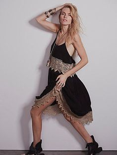 Intimately Free People Star Slip Dress Large