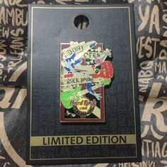 Hard Rock Pin San Fransisco USA Limited Edition 2015 Guitar Series HRC Zombies 15 SFN