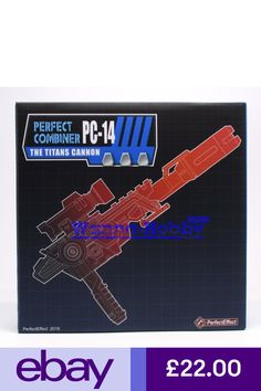 Transormers PerfectEffect PC14EX PC-14EX The Titans Cannon MISB IN STOCK MISB