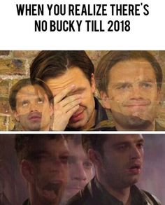 There will always be Bucky in our hearts (besides, reverse brainwashing takes time. Hopefully, he'll be okay by 2018)