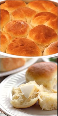 mazedonisches essen After tasting these Delicious Classic Dinner Rolls I cant image there could be any other dinner roll better than these. My husband has already requested they b Challah Bread Recipes, Quick Bread Recipes, Baking Recipes, Homemade Dinner Rolls, Dinner Rolls Recipe, Homemade Breads, Quick Dinner Rolls, Good Food, Yummy Food