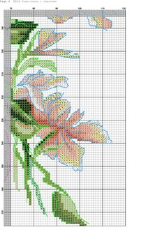 k 8 Cross Stitch Fruit, Cross Stitch Kitchen, Counted Cross Stitch Patterns, Photo Wall, Banner, Diagram, Crafts, Stitch Patterns, Poppies
