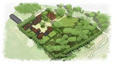 New development of 5 houses within a former farm in Brentwood. Designed by PLANSTUDIO (hello@planstudio.uk) We worked closely with the planning authority to reintroduce a traditional farm settlement arrangement of buildings with a central courtyard which resurrects the historical character of the site