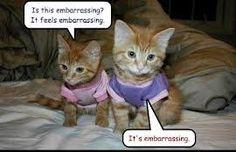 It's embarassing!