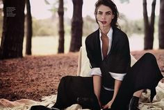PMA - CRISTA COBER for VOGUE Australia photographed by WILL DAVIDSON
