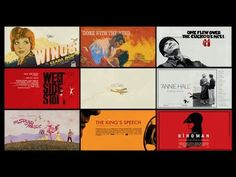 The Evolution Of Poster Art For Films That Have Won 'Best Picture' At The Oscars - DesignTAXI.com